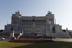 Monument to Victor Emmanuel Stock Photos