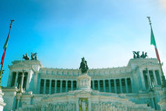Monument to Victor Emmanuel II Stock Photography