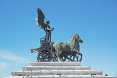 Monument to Victor Emmanuel II at Piazza Venezia in Rome Stock Images
