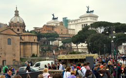 Monument To Victor Emmanuel II Rome Italy Royalty Free Stock Images