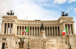 The monument to Victor Emmanuel II. Rome, Italy Stock Image