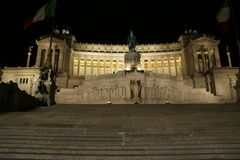 Monument to Vittorio Emanuele II Royalty Free Stock Images
