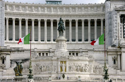 Monument to Vittorio Emanuele II, Rome It stock photography