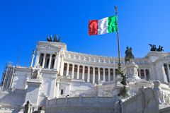 Monument to Vittorio Emanuele II, Rome Royalty Free Stock Image