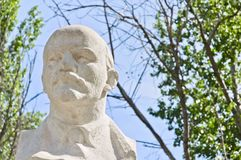 A monument to Vladimir Ilyich Lenin Stock Image
