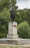 Monument to Vladimir Lenin in Bologoye. Tver oblast. Russia Royalty Free Stock Photo