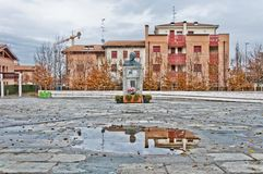 Monument to Vladimir Lenin in Cavriago, Italy Stock Photo