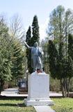 Monument to Vladimir Lenin in a city park in Krasnogorsk Royalty Free Stock Photo