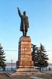 Monument to Vladimir Lenin in Kineshma. Russia Royalty Free Stock Image