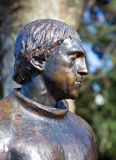 Monument to Vladimir Vysotsky in Sochi. Russia Stock Photography