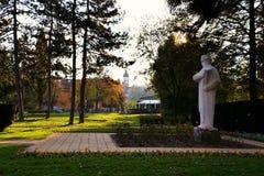 Free Monument To Vuk Stefanovic Karadzic Stock Image - 39067841