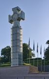Monument to the War of Independence Stock Image