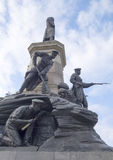 Monument to war of 1854 Royalty Free Stock Photography