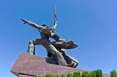 Monument to war in Sevastopol town Stock Photography