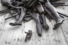 Monument to war victims. Monument to the victims of all wars Stock Image
