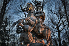 Monument to the Warsaw Polish king Jan III Sobieski Royalty Free Stock Photography