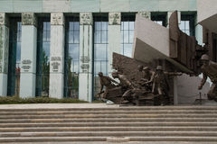 Monument to the Warsaw Uprising Fighters, Poland Stock Image