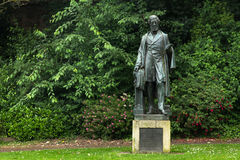 Monument to William Reginald Courtenay stock photography