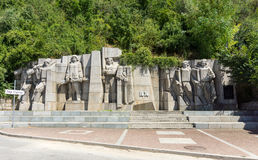 Monument to the winners in the Russian-Turkish war in Lovech, Bulgaria royalty free stock images