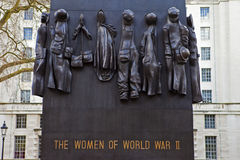 Monument to the Woman of World War Two Stock Photo