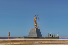Monument to Women Fortaleza Brazil Stock Images