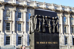 Monument to the women of the world war Stock Image