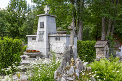 Monument to the World War II Victims in Zakopane Stock Image