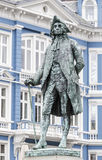 Monument to the writer Ludvig Holberg Stock Images