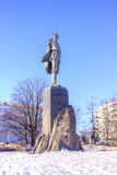 Monument to the writer Maxim Gorky Royalty Free Stock Image