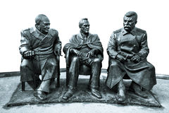 Monument to the Yalta Conference. Stock Images
