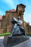 Monument to Yaroslav Mudry in Kiev Stock Images