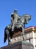 Monument to Yuri Dolgoruky. In Moscow Royalty Free Stock Photos