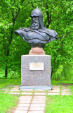 Monument to Yuri Dolgoruky. Pereslavl-Zalesskiy, Russia Royalty Free Stock Images