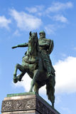 Monument to Yury Dolgoruky  in Moscow Stock Image