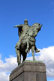 Monument to Yury Dolgoruky  in Moscow Royalty Free Stock Images