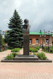 Monument of Tolstoy. The monumet of  one of the greatest russian writers - Lev Tolstoy Stock Photos
