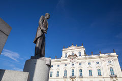 Monument of Tomas Garrique Masaryk Royalty Free Stock Images