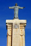 Monument in the top of El Toro, Menorca Spain Royalty Free Stock Photo