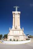 Monument at Toro mountain Royalty Free Stock Photos