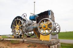 Monument Tractor Stock Photo