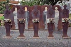 Monument Tutti Potenziali Bersagli - attraction in Rome, Italy Stock Image