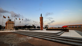 Monument u. Grab für unbekannten Soldaten Stockfoto