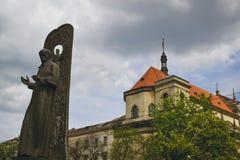 Monument of Ukrainian writer Taras Shevchenko Royalty Free Stock Images