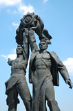 monument ussr Arkivfoton