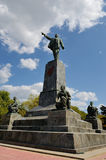 The monument V. I. Lenin in Sevastopol Royalty Free Stock Photography