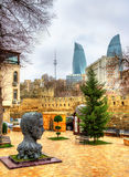 Monument of Vahid Aliaga in Baku Royalty Free Stock Images