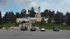 Monument in Valea-Merrie - Pravat Royalty-vrije Stock Afbeeldingen