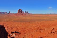 Monument Valley. Different buttes in Monument Valley Stock Photo