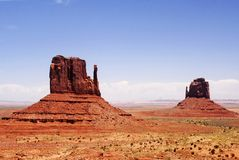 Monument Valley 17 Royalty Free Stock Image