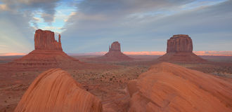 Monument Valley. Royalty Free Stock Image